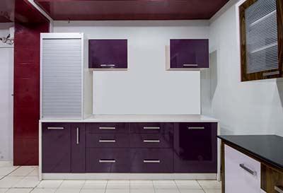 Modular Color Combination PVC Kitchen Designer Kitchen Furniture In ...